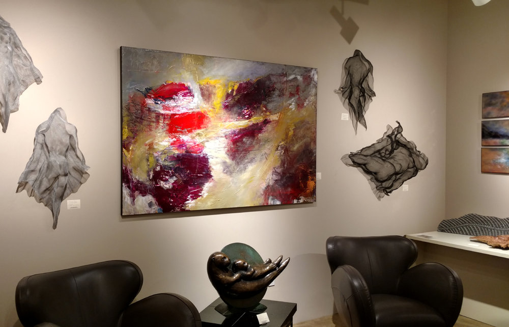 Previous installation at Gallery Mack downtown Seattle, WA.