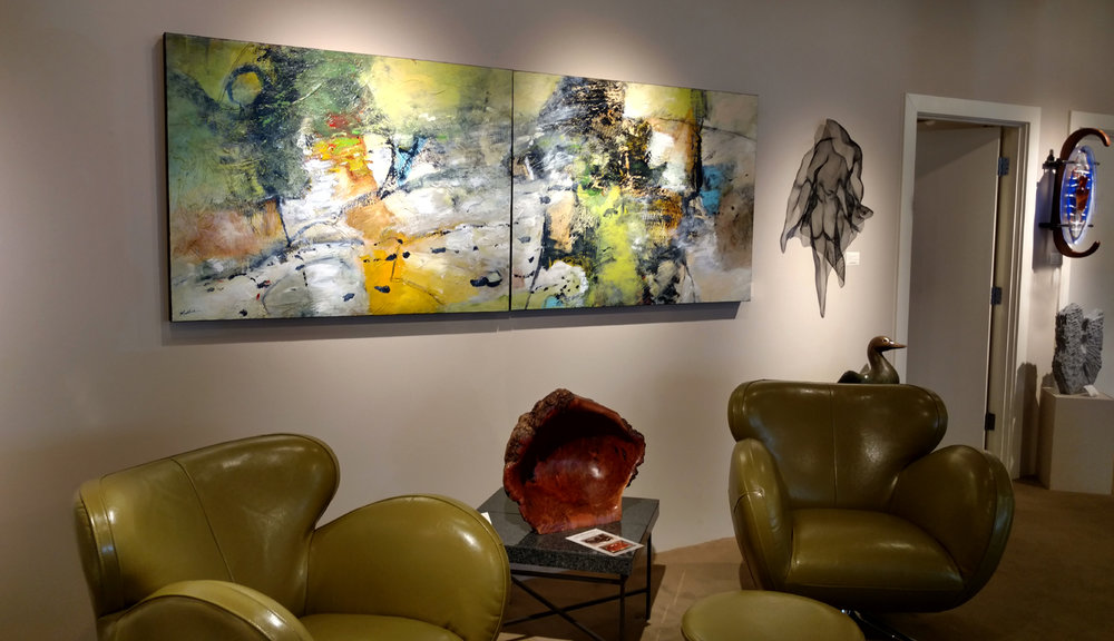 Previous installation at Gallery Mack in downtown Seattle, WA.