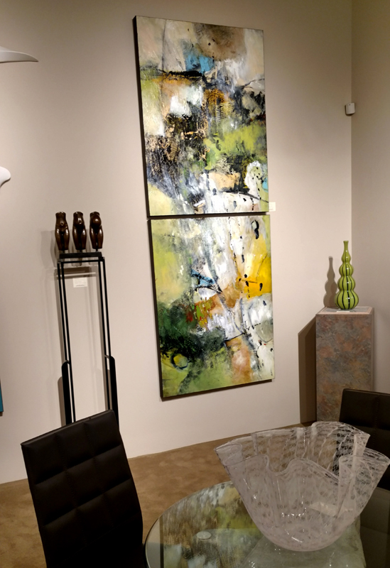 Recent installation at Gallery Mack in Seattle, WA.