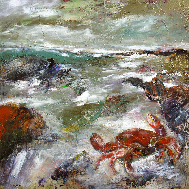 """Crabicus Headed to Sea"""