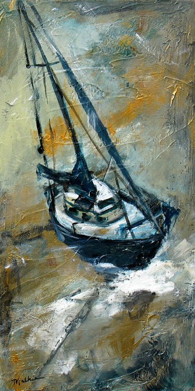 """Sailing — Winter Day"""