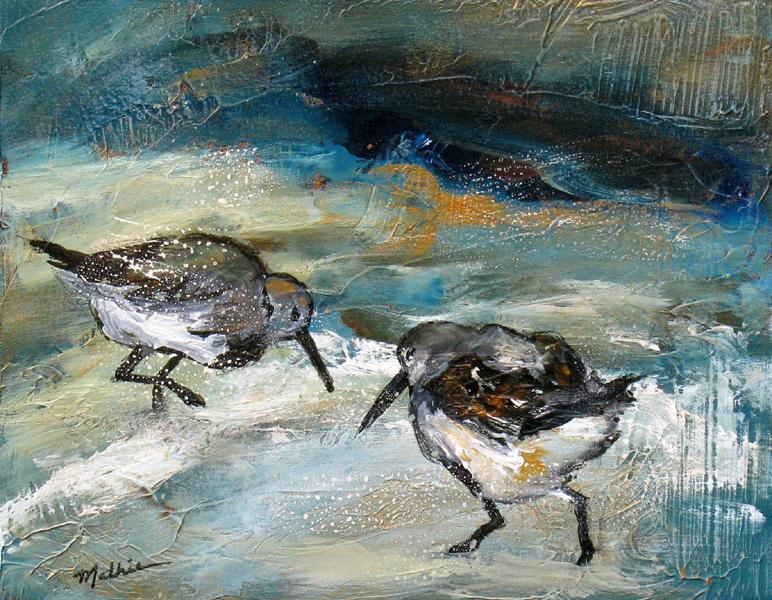 """""""Shorebirds, X"""""""