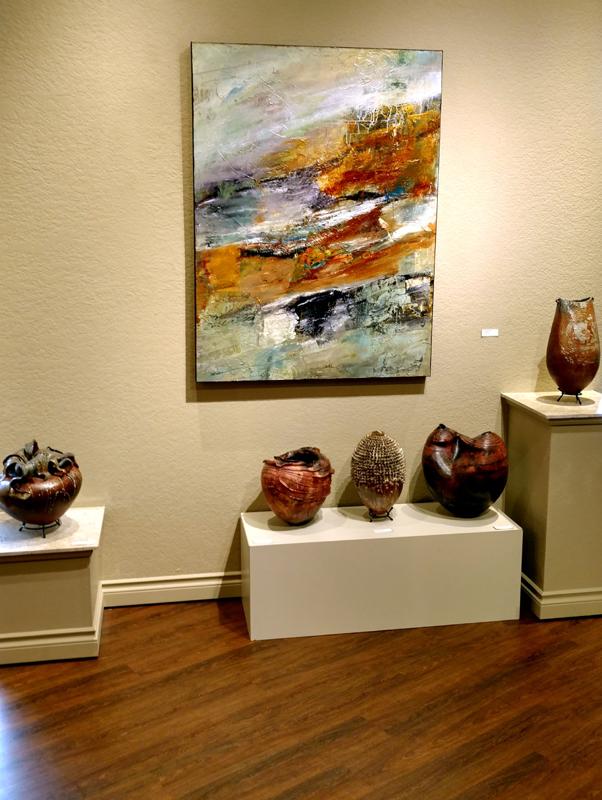 Recent installation at Howard/Mandville Gallery in Kirkland, WA.