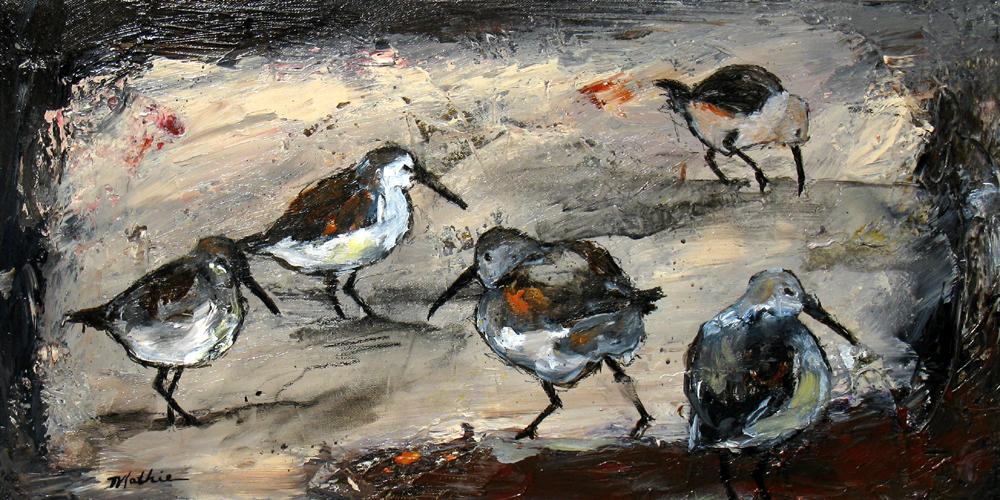 """""""Shorebirds, XII"""""""