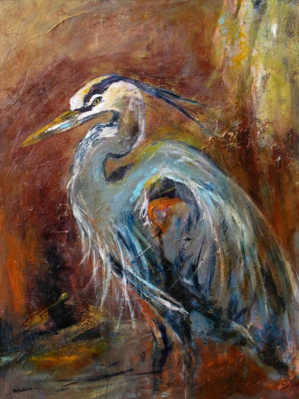 """Posing Great Blue Heron"""
