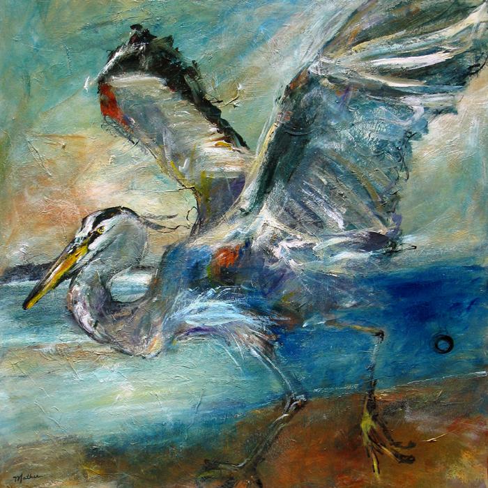 """Heron Dance — For Good Luck"""