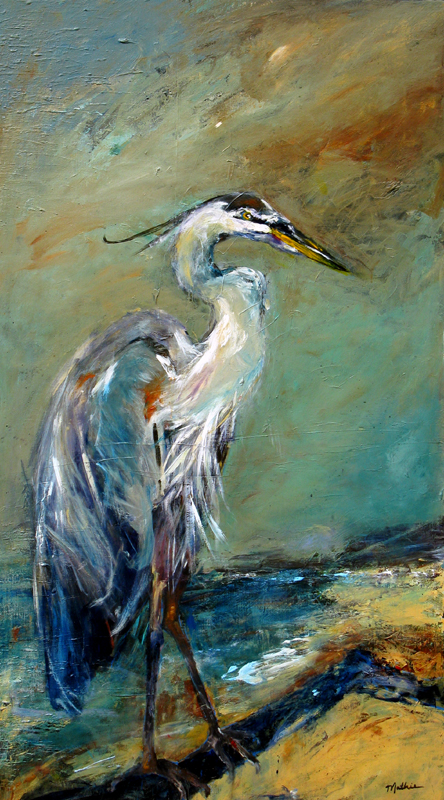 """A Heron You Can Talk To — One that Will Listen"""