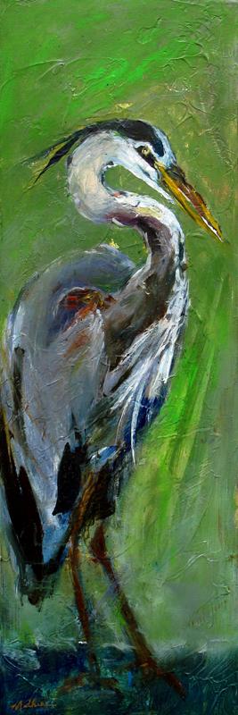 """""""Standing Heron"""""""