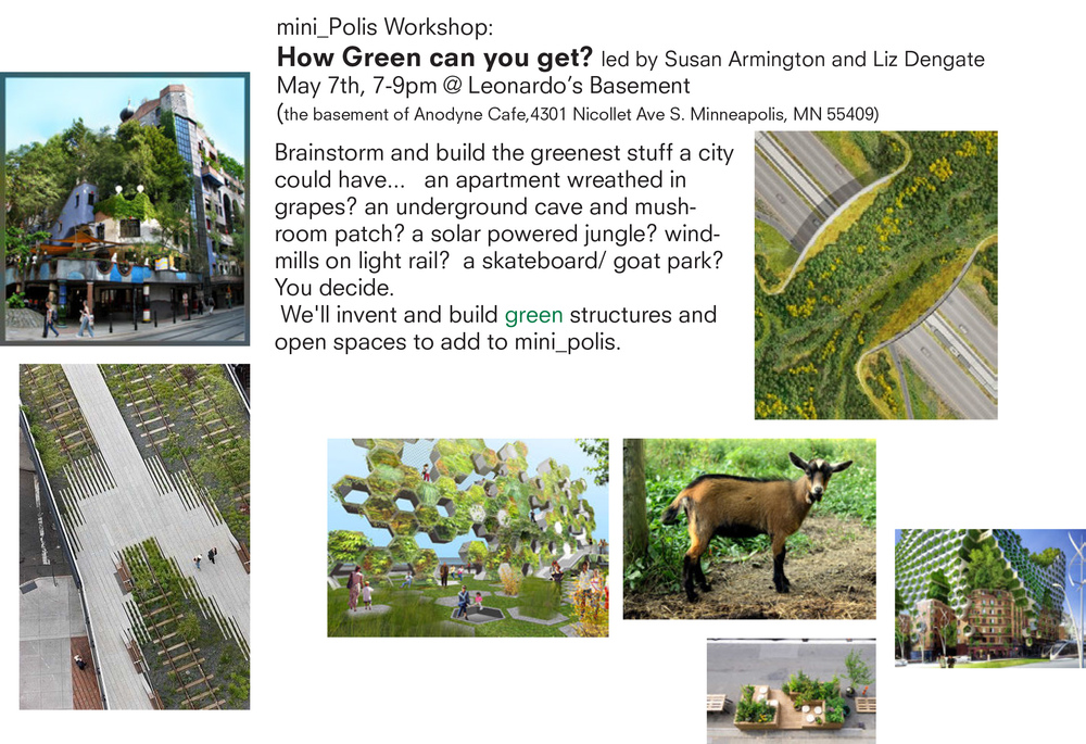 Green Workshop Flyer