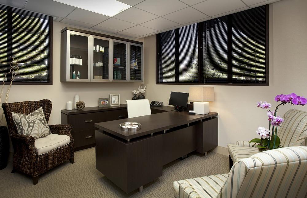 South bay medical suite adf interior designs for Personal office interior design
