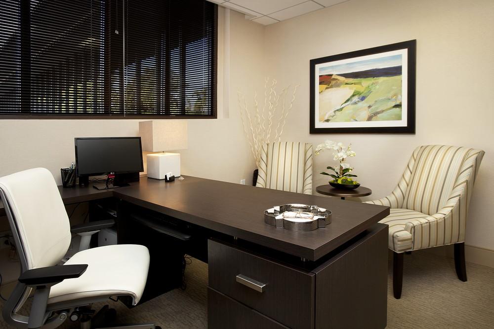 Services adf interior designs for Personal office interior design