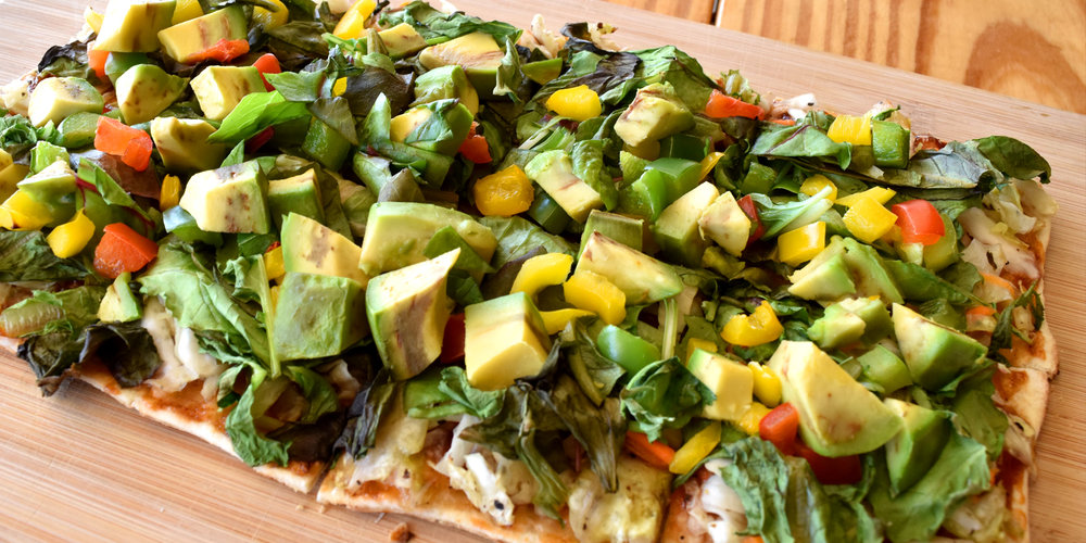 Vegan Delight Flatbread - 9.50