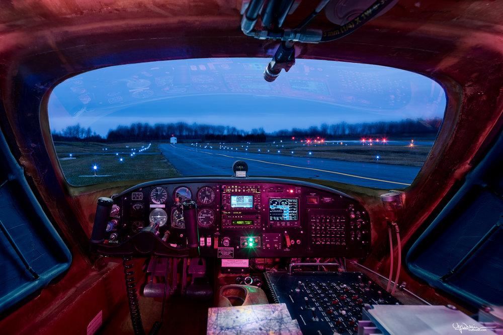 Skyraider OPV - Cockpit