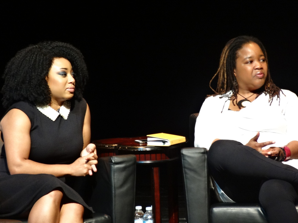 Panelists Demetria and Farai