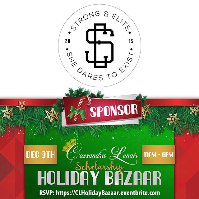 Join me THIS Saturday, December 9th at the 2nd Annual Cassondra Lenoir Scholarship Holiday Bazaar! Enjoy a day filled with live performances, amazing shopping, networking, raffles including 2 VIP tickets to a Brooklyn Nets game, and FREE food sponsored by FreshDirect while @CassondraLenoir raises money to award 3 first-generation college students with scholarships. Come out and shop with a purpose. Entry is FREE!!! The event lasts from 11a-6p. RSVP today at CLHolidayBazaar.Eventbrite.com #CLSHolidayBazaar #ShopWithPurpose #CLScholarship