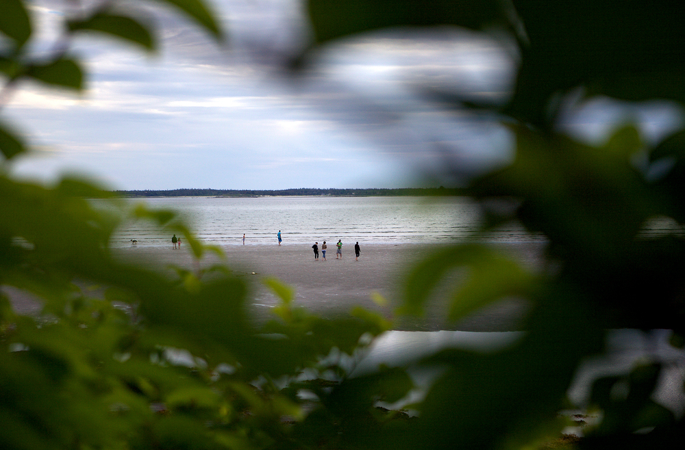 Although Sebim Beach is a private summer community, it sits adjacent to Sand Hills Beach Provincial Park, sharing the same stretch of endless sand flats.