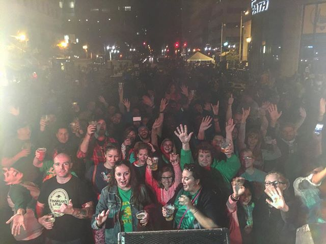 Thank you Jersey City! #jerseycity #irishfestival #musicfestival #narrowbacks #banjo #accordion #folkrock #acoustic #martinguitar #fireitup #livemusic #irishmusic #narrowbacks