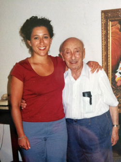 (me at my heaviest with my 105-year-old grandfather!)