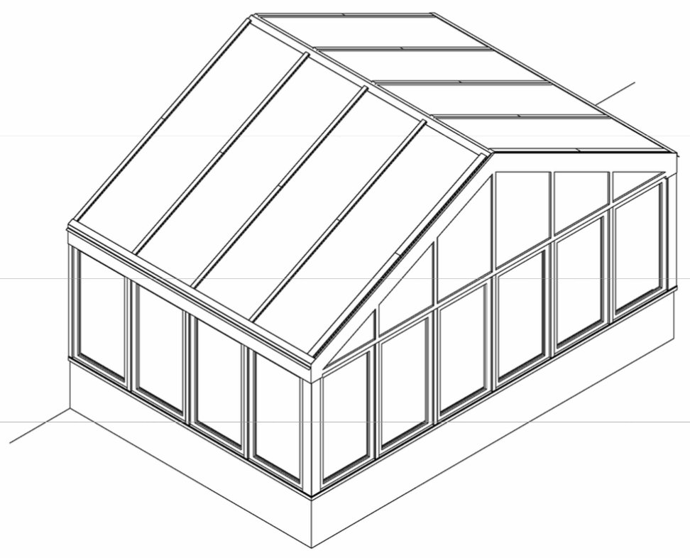 Glass House Floor Plans Home Design Ideas likewise Pvc Greenhouse further Conservatory Sunroom Design Build Contractor besides Gable Pergola Plans moreover Hip Roof Gazebo Plans. on build perfect pitched roof