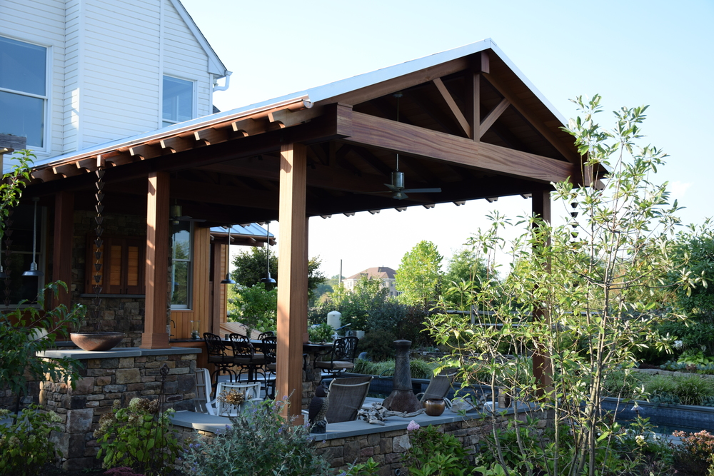 Custom Back Yard Pavilion