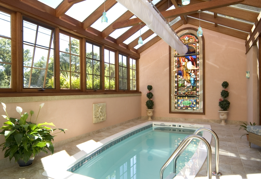 Custom Pool Enclosure (interior)