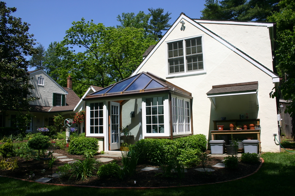 Copper Clad Green House Addition