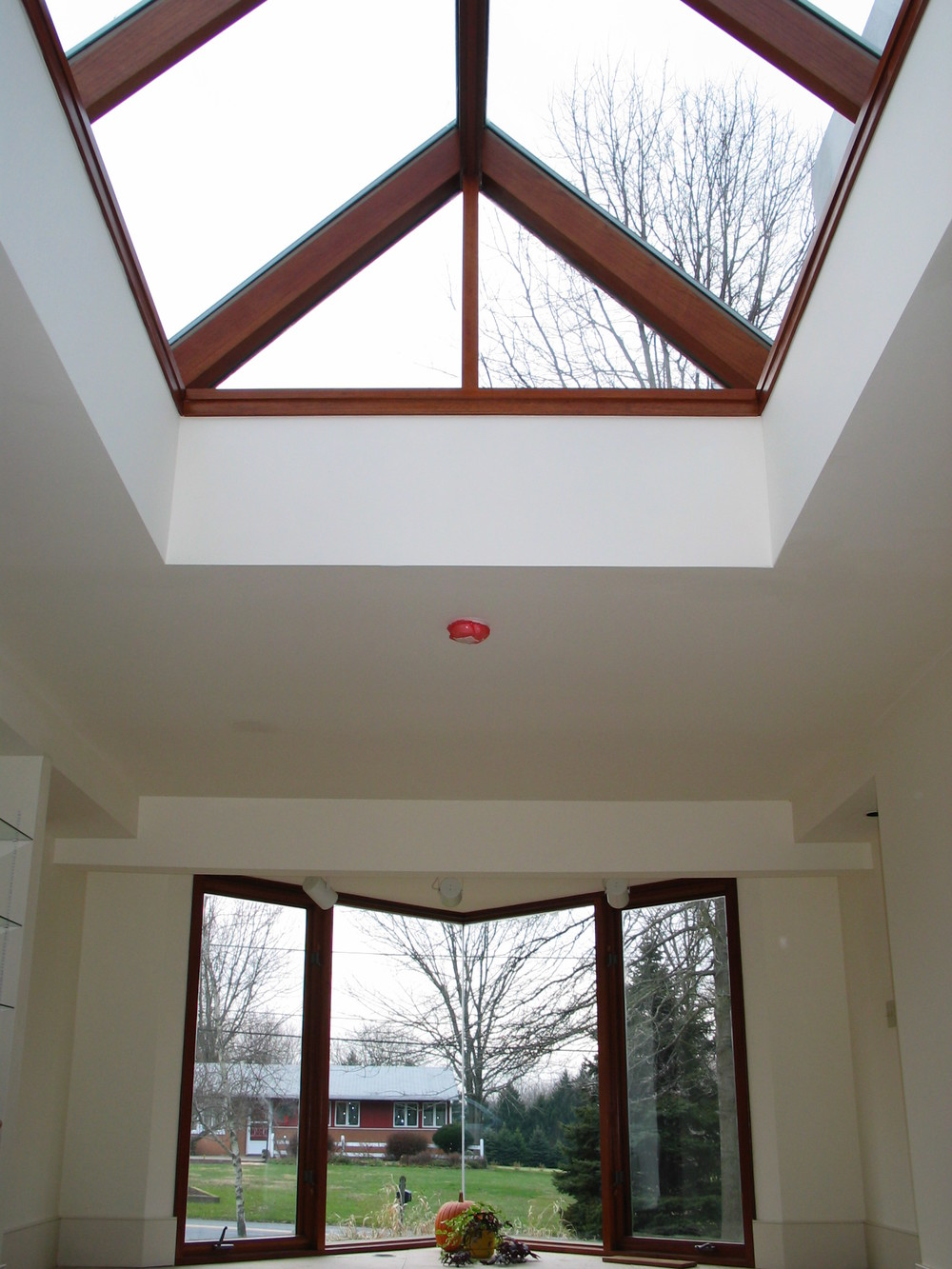 Custom Gable Skylight