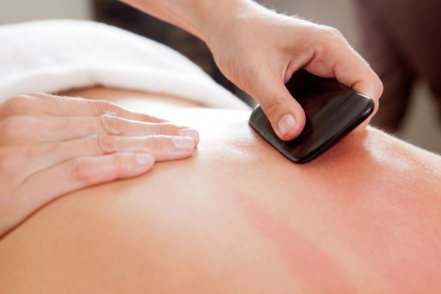 <B>GUA SHA</B> TREATMENT