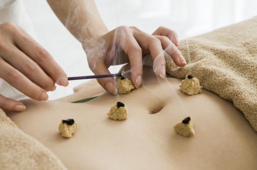 <B>MOXIBUSTION</B> TREATMENT