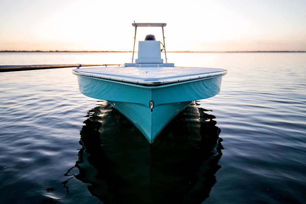 Skiff photography sample