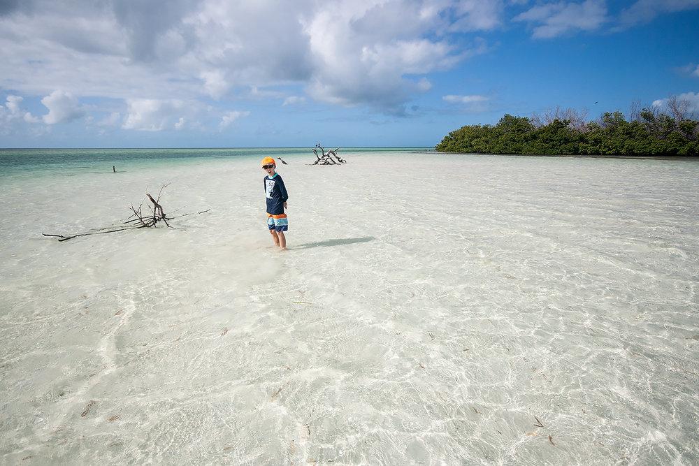 Sandbar at Sawyer Key