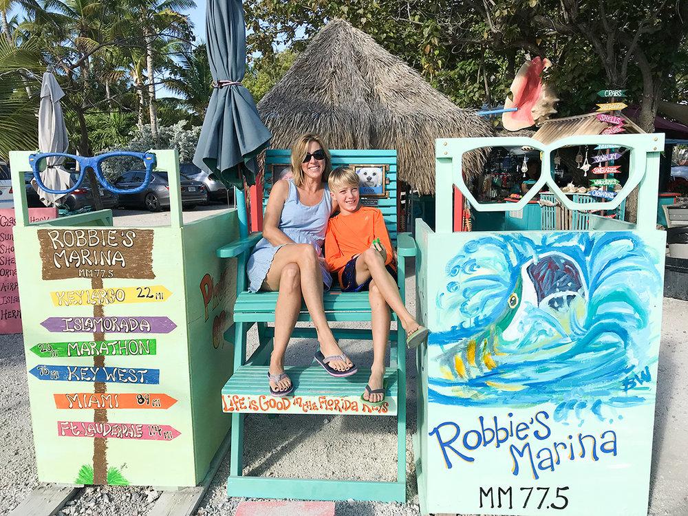 Robbie's marina/restaurant/tourist trap in Islamorada