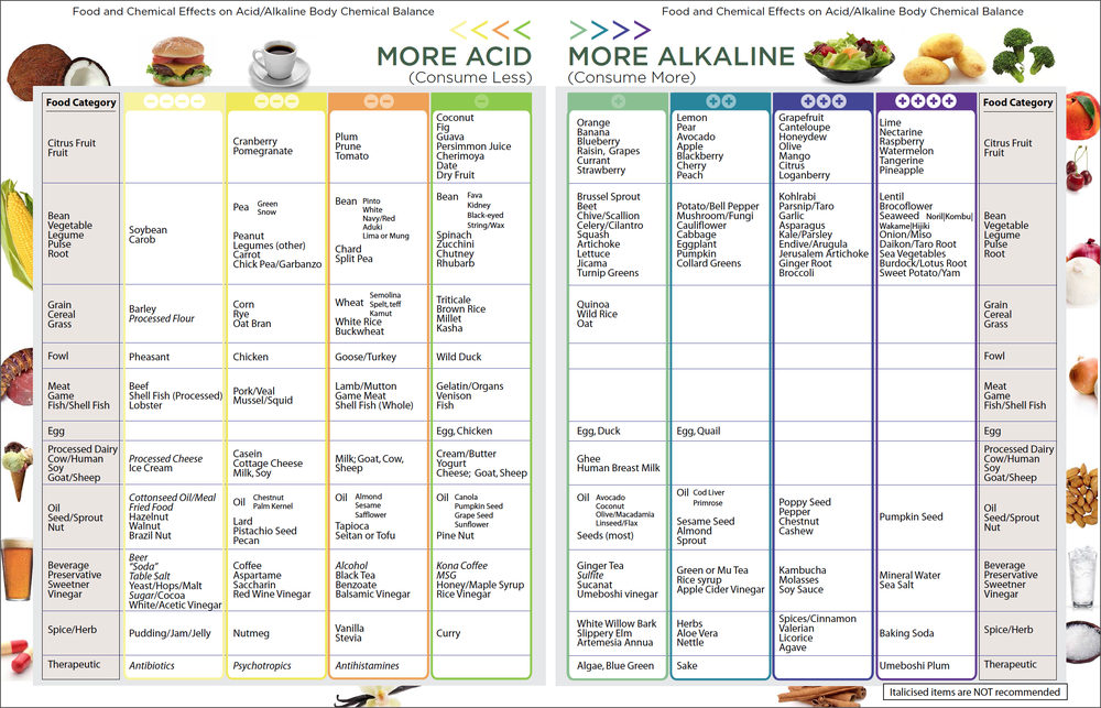 Food that balances whole life sciences healthywiser ph test strips 100ct per pack accurate results in 15 seconds free alkaline food chart pdf monitor your ph daily forumfinder Images
