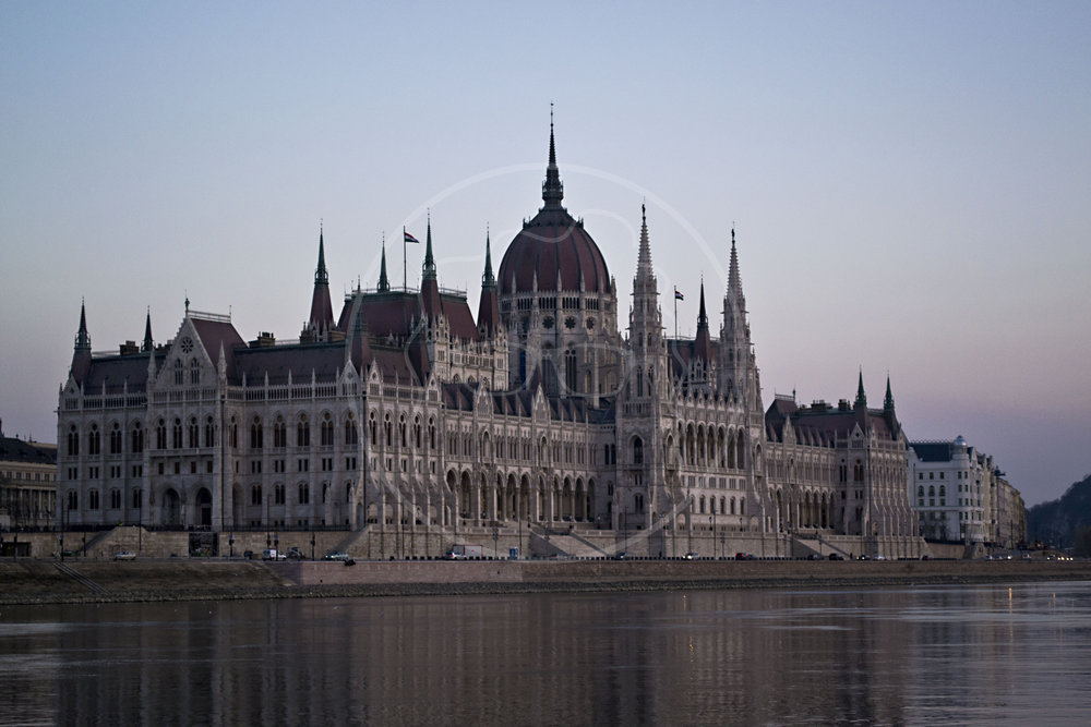 Parliament from the Danube | Budapest, Hungary | 2014