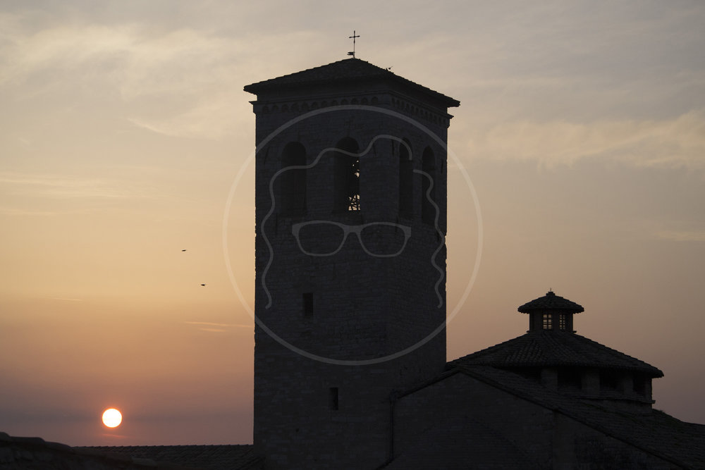 Assisi Sunset | Assisi, Italy | 2015