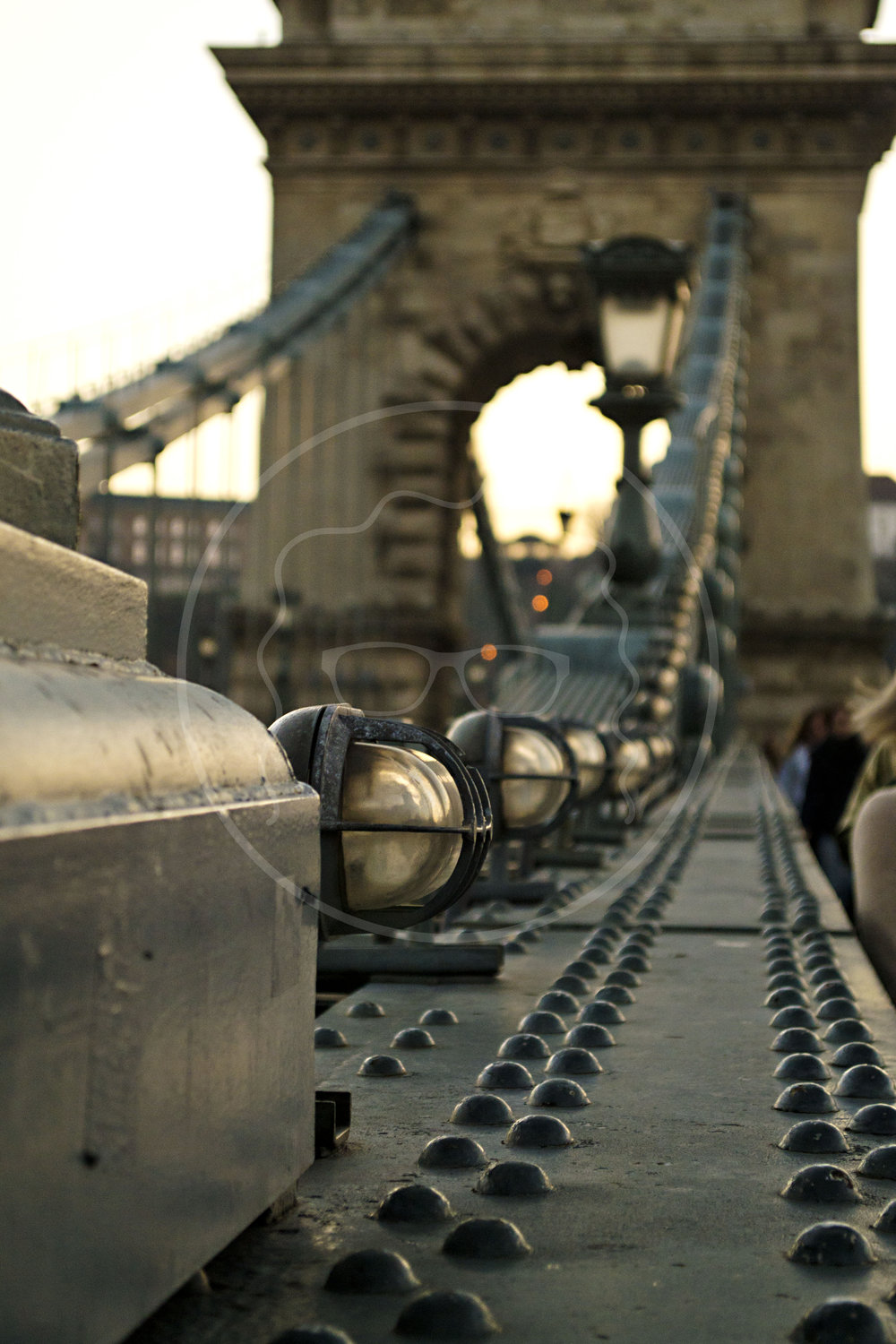 Across the Chain Bridge | Budapest, Hungary | 2014