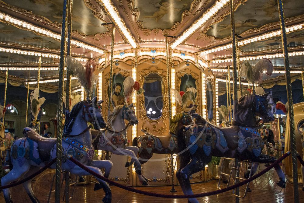 Midnight Carousel | Florence, Italy | 2015