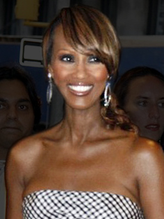 Somali model Iman.
