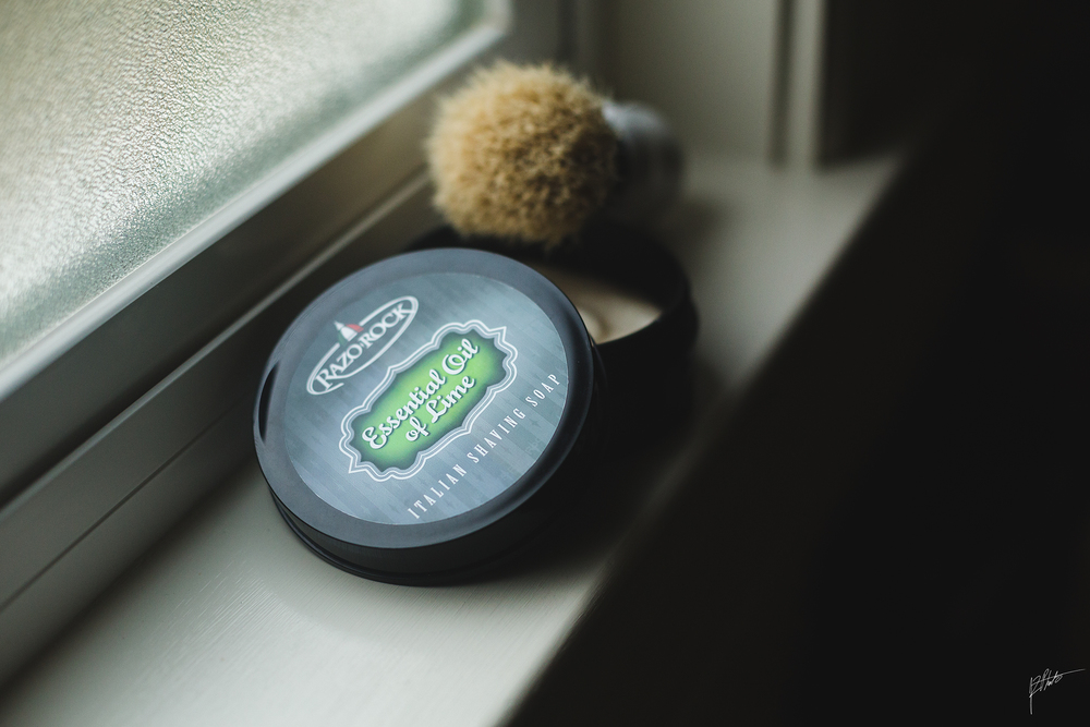 One of my personal favorites. Razorock Essential Oil of Lime. I'm a big fan of citrus scents.
