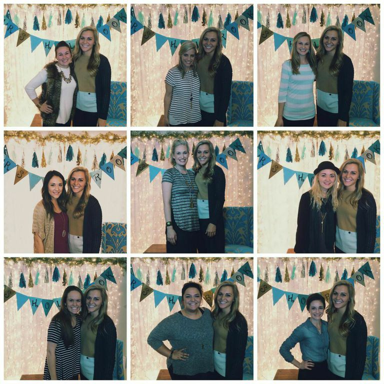 Just some of my beautiful guest from my second shower. Wish I could have gotten pictures with everyone!