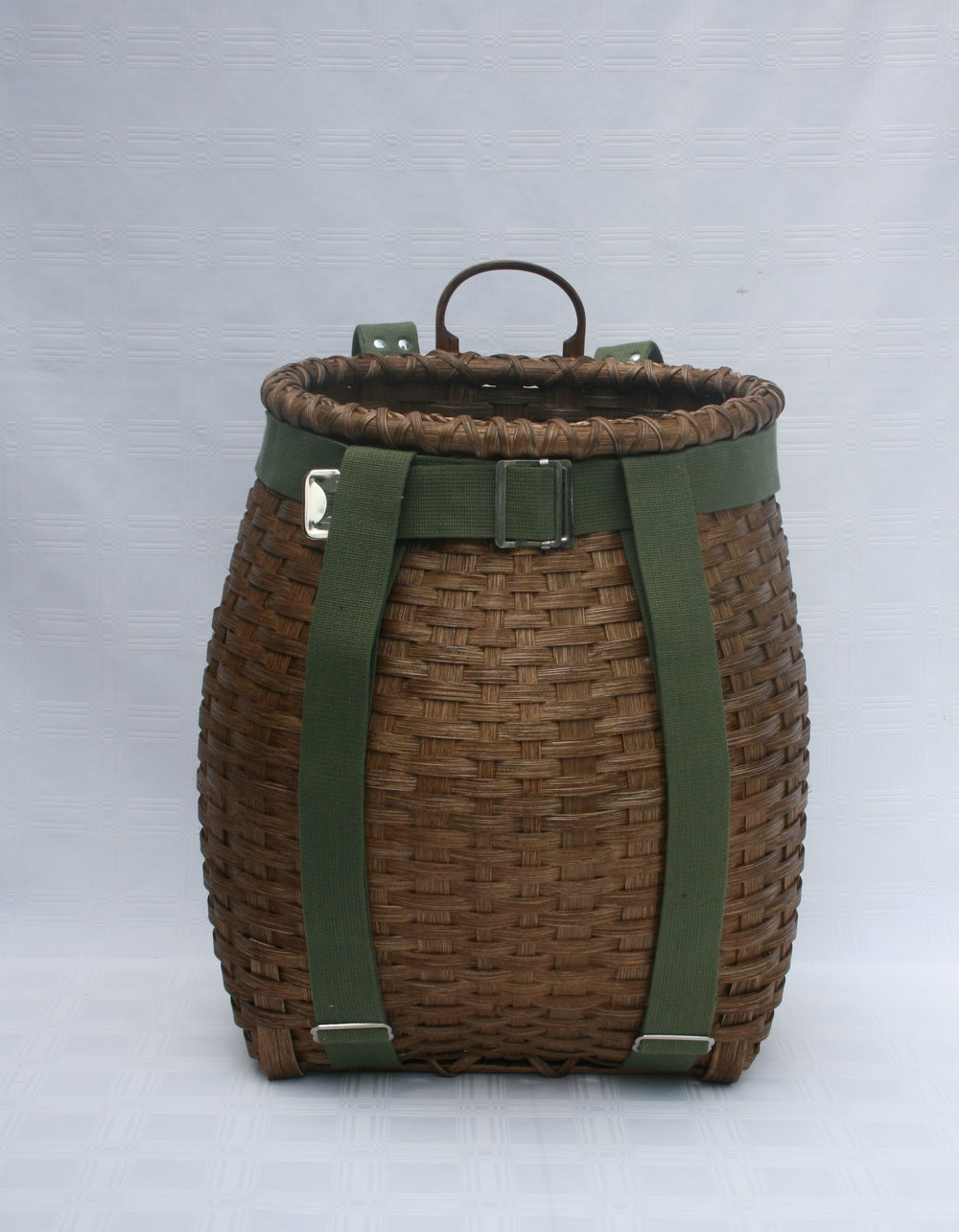 August 31-Sept 2 Sightseer Pack Basket - This medium sized pack basket is great for teen or adult men or women.  Basket dimensions are   8 1/2