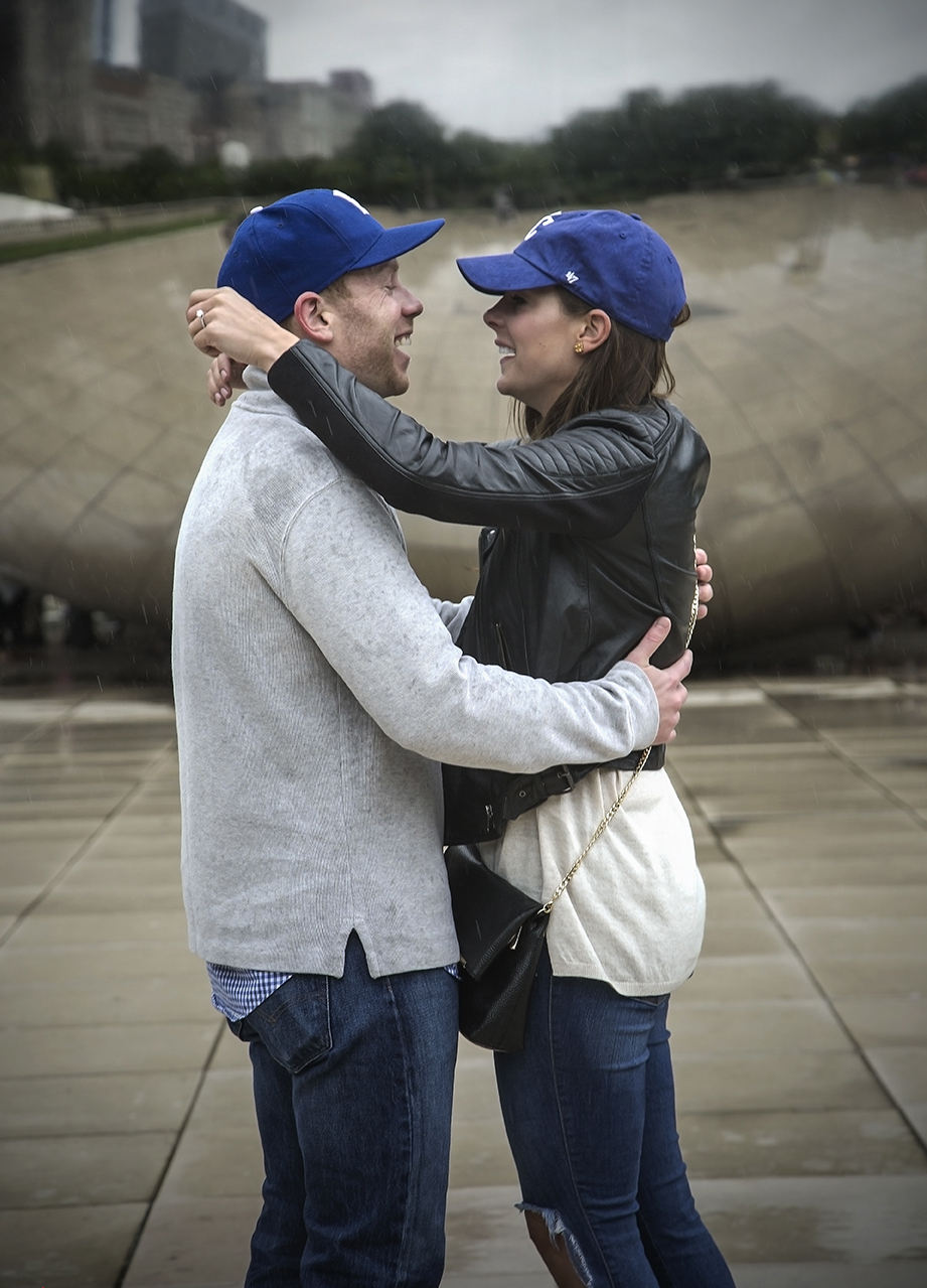 Chicago Bean Engagement Photography