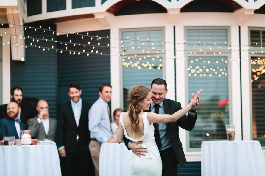 Molly + Josh // Boathouse Wedding