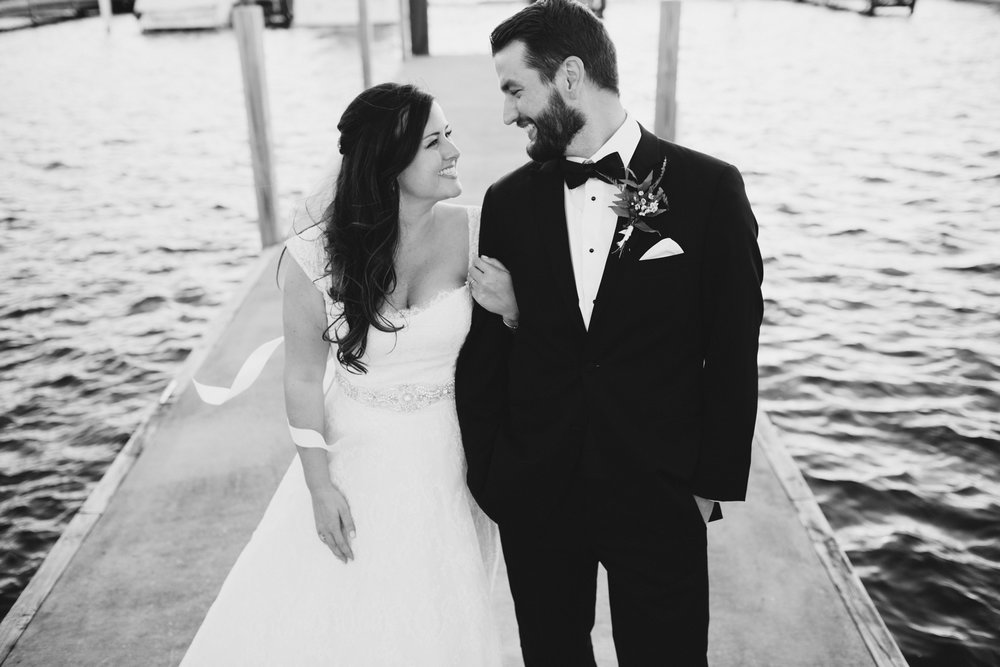 Katie + Joe's Bay Harbor Yacht Club Wedding
