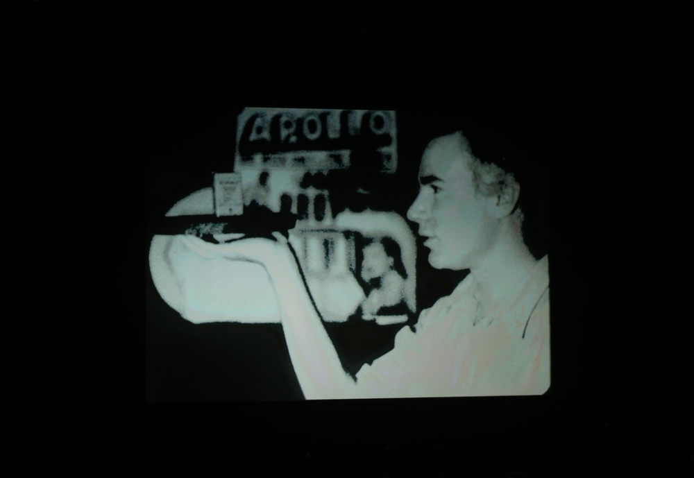 Andy Warhol featured in one of the short films presented. Photo: Roosa Päivänsalo