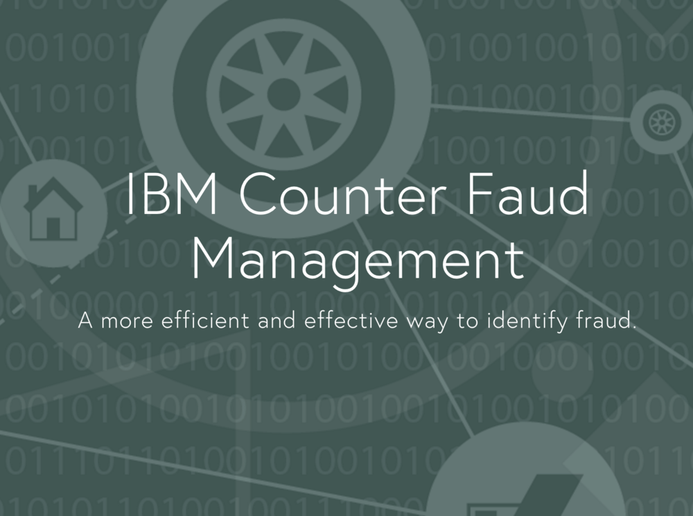 IBM Counter Fraud Management