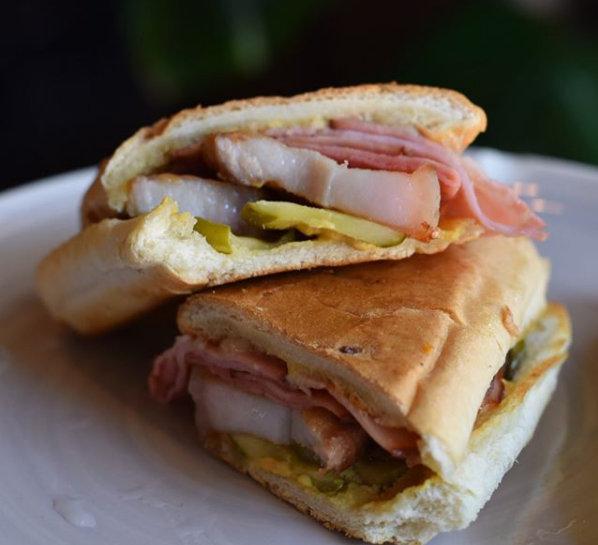 Cuban Sandwich at Oro restaraunt Houston