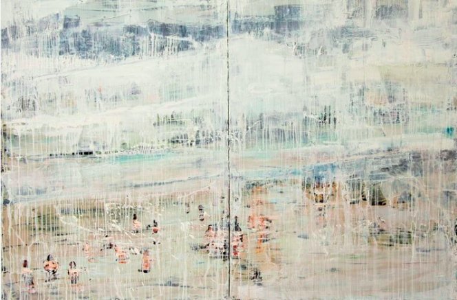 "Waters  |  72"" x 48""  