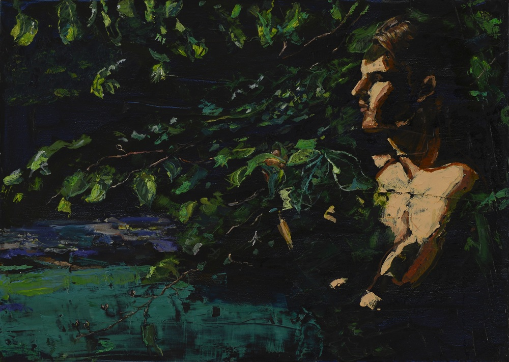 "Feel of Leaves |  20"" x 27.5""  