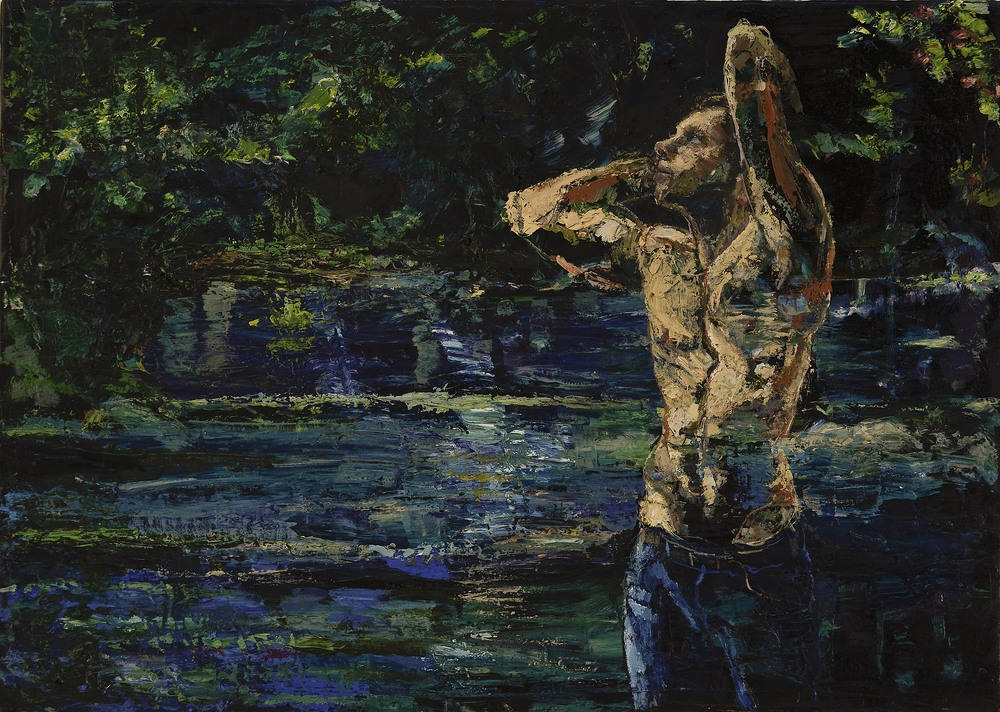 "Lake Boy |  20"" x 27.5""  